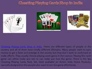 Cheating Playing Cards Shop in India