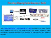 Cheating Playing Cards Devices in Delhi