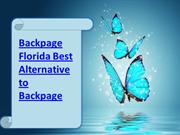 Backpage Florida Best Alternative to Backpage