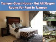 Tzaneen Guest House - Get All Sleeper Rooms For Rent In Tzaneen