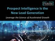 Prospect Intelligence is the New lead Generation