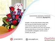 Send Online Gifts To India Via OyeGifts