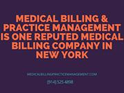 Medical Billing Company: Medical Billing & Practice Is The Name
