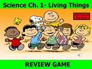 Science Ch 1 Living things REVIEW WORKS