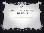 Latest Diamond Bangles Online | Sunny Diamonds