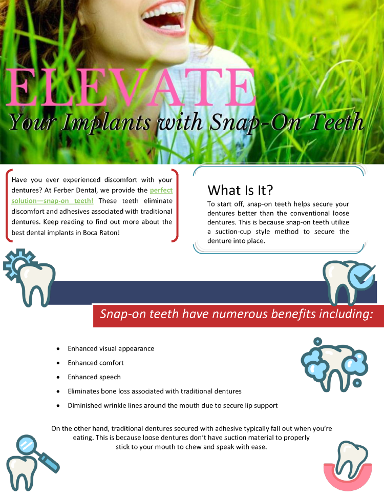 Elevate Your Implants With Snap On Teeth Authorstream