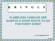 Flameless Candles Are Always A Good Route To Go For Every Event