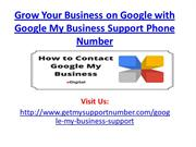 Grow Your Business on Google with Google My Business Support