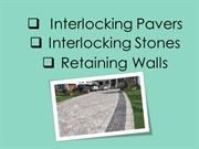 Interlocking Stones  Interlocking Pavers  Retaining Walls