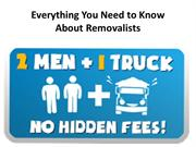 Everything You Need to Know About Removalists