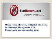 Home Elevators, residential Elevators, in Pittsburgh Pennsylvania, Eri