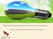 Reduce electricity bills and save money by solar power company