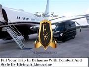 Fill Your Trip In Bahamas With Comfort And Style By Hiring A Limousine