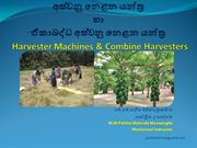Harvester Machines & Combine Harvesters