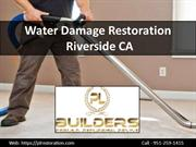 4 Ways of Deal with Water Damage Restoration at Riverside