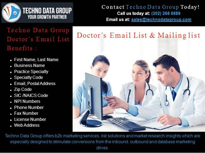 USA Doctors Email List |Free Doctors Mailing Lists | Doctors