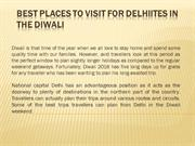 Best Places To Visit For Delhiites In The Diwali long weekend