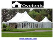 Tents Manufacturer and Supplier in Delhi