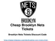 Cheap Tickets for Brooklyn Nets