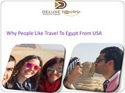 Why People LikeTravel To Egypt From USA