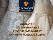 Digitizing|Custom Embroidery|Vector Graphic|Garment manufacturing