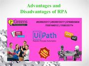 Advantages and Disadvantages of RPA