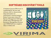 Software Discovery Tools