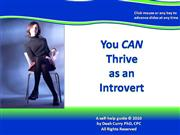 You CAN Thrive as an Introvert