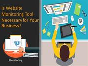Is Website Monitoring Tool Necessary for Your Business?