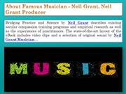 Some Thing About Neil Grant, Neil Grant Producer, Neil Grant Actor