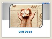 Gift Deed Services By Enterslice ITeS