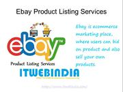 ebay product listing services
