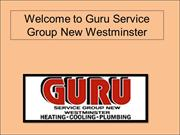 Furnace Installation New Westminster - Guru Service Group New Westmins