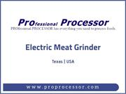 Latest electric meat grinder available online
