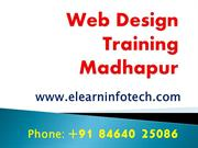 Realtime Web Designing Course in Madhapur, Hitech City