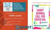 Best Way To Submit Your Research Journal IJARIIT
