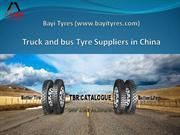 Truck and Bus Tyre Suppliers in China