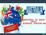 Subclass 485 for immigration to Australia - MoreVisas