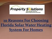 10-Reasons-For-Choosing-Florida-Solar-Water-Heating-System-For-Homes