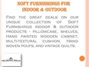 Soft Furnishings for Indoor & Outdoor |The Vintage Tent Company-conver