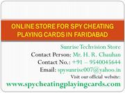 Play Your Favorite Card Game with Cheating Playing Cards in Faridabad