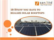 10 Stuff you have to realize solar rooftops