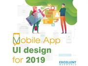 Mobile App UI Design 2019