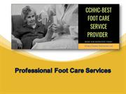 Hire Professional Foot Care in Toronto, Canada