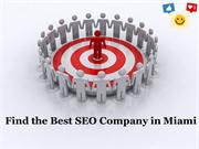Find the Best SEO Company in Miami