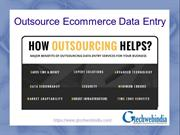 outsource ecommerce data entry services