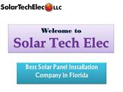 Best Solar panel service near Florida with 0% down payment