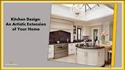 Kitchen Design An Artistic Extension of Your Home