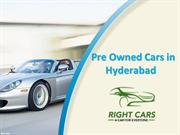 Pre Owned Cars in Hyderabad, Best Used Cars in Hyderabad, Car Trade Hy