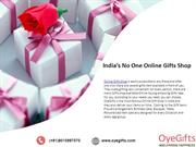 India's No One Online Gifts Shop OyeGifts